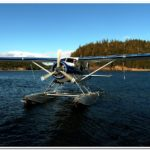 Friendly Alaska Floatplane Services.  Delivering Mail and Visitors