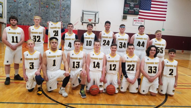 BOYS BASKETBALL TEAM IN THE STATE TOURNEMENT