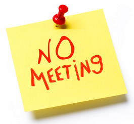 NOTICE OF CANCELLED MEETING