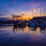 TB Marina sunset