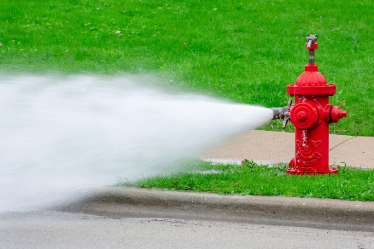 HYDRANT FLUSHING SCHEDULE